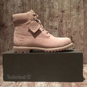 "Timberland Women's 6"" Double Suede WTF A1P7H Boot"